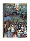 The New Yorker Cover - August 2, 1958 Giclee par Arthur Getz