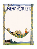 The New Yorker Cover - July 26  1958