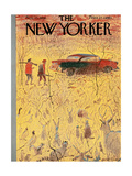 The New Yorker Cover - November 15  1958