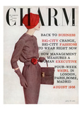 Charm Cover - August 1956