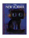 The New Yorker Cover - January 29  1990