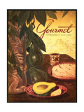 Gourmet Cover - April 1952