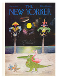 The New Yorker Cover - January 16  1965