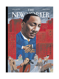 The New Yorker Cover - January 16  1995