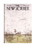 The New Yorker Cover - October 4  1976