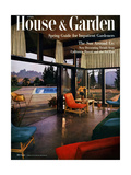House & Garden Cover - April 1954