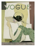 Vogue Cover - May 1928 Reproduction d'art par Georges Lepape