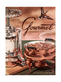 Gourmet Cover - October 1952