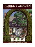 House & Garden Cover - July 1933