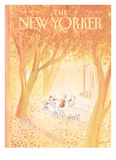 The New Yorker Cover - October 20  1980