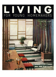 Living for Young Homemakers Cover - August 1953