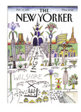 The New Yorker Cover - February 13  1995