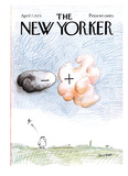 The New Yorker Cover - April 7  1975