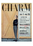 Charm Cover - October 1955