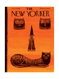The New Yorker Cover - October 28  1961