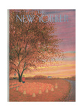 The New Yorker Cover - October 31  1953