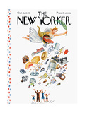 The New Yorker Cover - October 6  1945