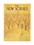 The New Yorker Cover - April 12  1976