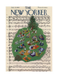 The New Yorker Cover - July 23  1955