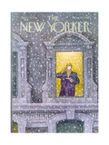 The New Yorker Cover - January 12  1976