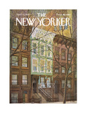 The New Yorker Cover - April 12, 1969 Giclee par Charles E. Martin