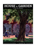 House & Garden Cover - September 1931