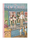 The New Yorker Cover - July 21  1956