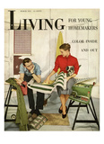 Living for Young Homemakers Cover - March 1951