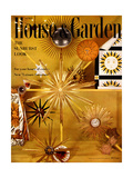 House & Garden Cover - April 1956