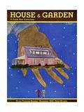 House & Garden Cover - November 1932