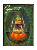 Gourmet Cover - December 1956