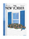 The New Yorker Cover - July 28  1986