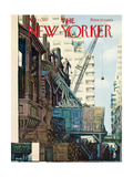 The New Yorker Cover - April 27  1957
