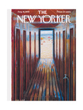 The New Yorker Cover - August 16  1958