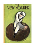 The New Yorker Cover - April 13  1957