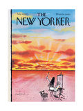 The New Yorker Cover - July 16  1973