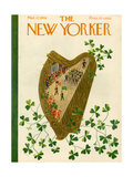 The New Yorker Cover - March 17  1956