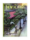 The New Yorker Cover - August 27, 1955 Giclee par Arthur Getz