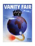 Vanity Fair Cover - November 1933
