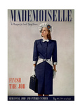 Mademoiselle Cover - May 1945