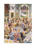 The New Yorker Cover - June 28  1947