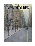 The New Yorker Cover - March 16, 1957 Giclee par Arthur Getz