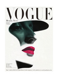 Couverture du magazine Vogue, mai 1945 Reproduction d'art par Erwin Blumenfeld