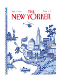 The New Yorker Cover - July 23  1990