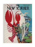 The New Yorker Cover - March 22  1958