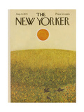 The New Yorker Cover - August 15  1970