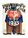 Vanity Fair Cover - January 1935