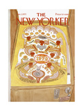 The New Yorker Cover - January 1  1972