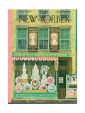 The New Yorker Cover - March 2  1946