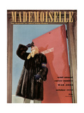 Mademoiselle Cover - October 1942